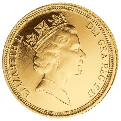 1/2 Sovereign Elizabeth II.