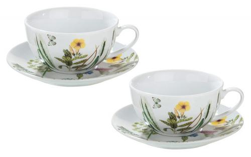 2 Tassen »Wildblumen«.