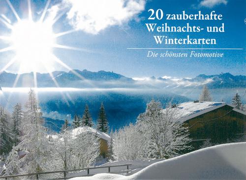 20 zauberhafte Weihnachts- & Winterkarten.