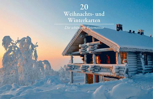 20 Foto-Winterkarten.