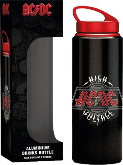 AC/DC Aluminium Trinkflasche.