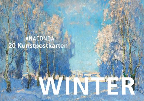 Anaconda Postkartenbuch »Winter«. 20 Kunstpostkarten.