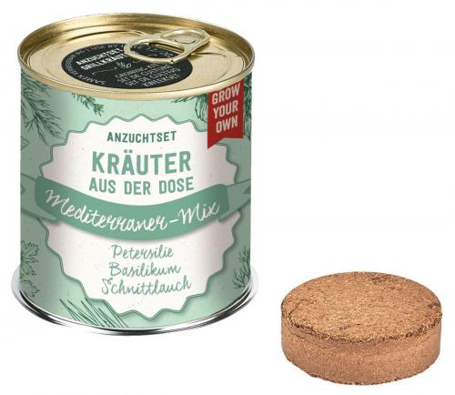 Anzuchtset Grillkräuter. Mediterraner-Mix.
