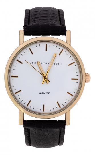 Armbanduhr für Herren »Leonardo Verelli«.