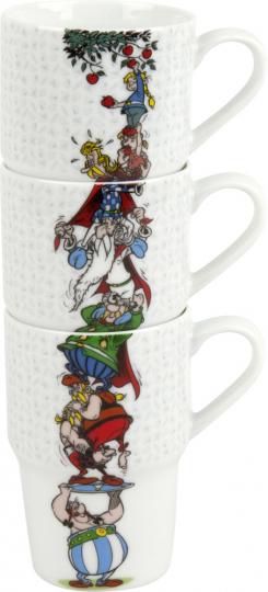 Asterix & Obelix »Apfel pflücken«. 3er-Set.