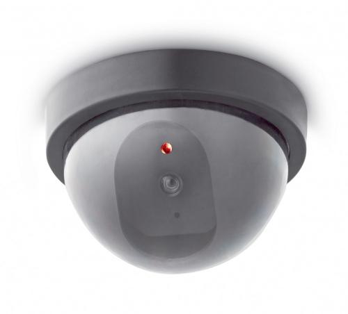 Überwachungskamera-Attrappe.