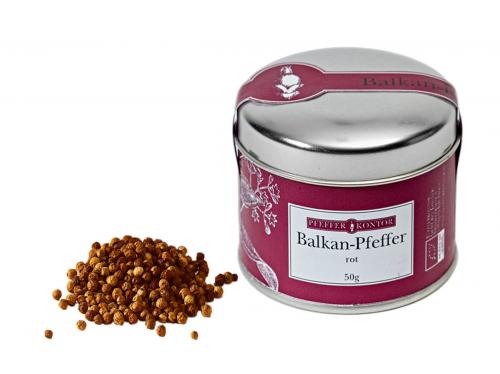 Balkan-Pfeffer, rot.