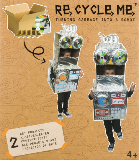 Bastelbox »Roboter«.