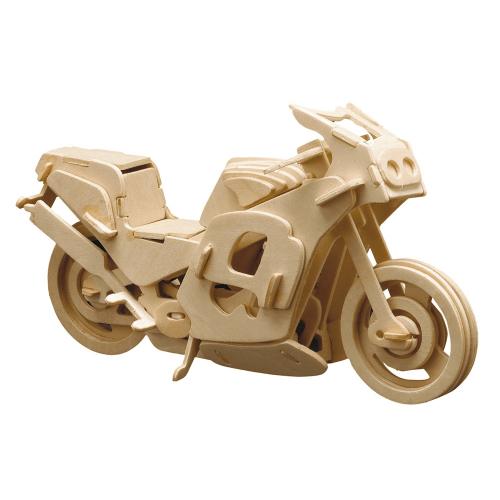 Bausatz Rennmotorrad.