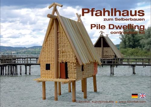 Bausatz »Pfahlhaus«.