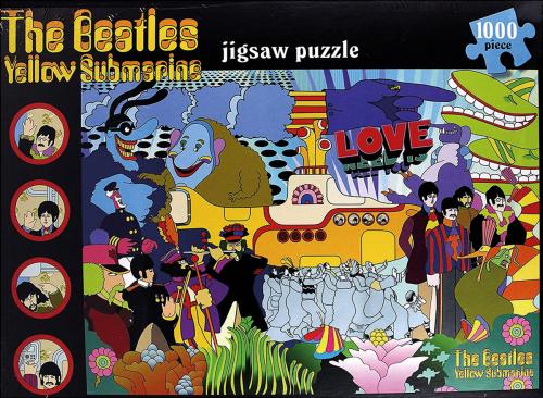 Beatles Puzzle. Yellow Submarine.
