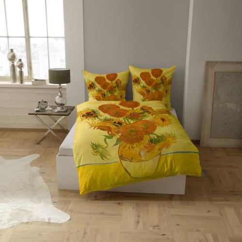 Bettwäsche »van Goghs Sonnenblumen«.