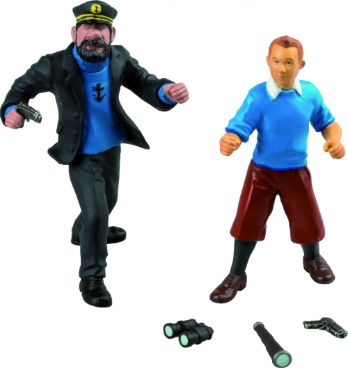 Blisterset Tim und Captain Haddock.
