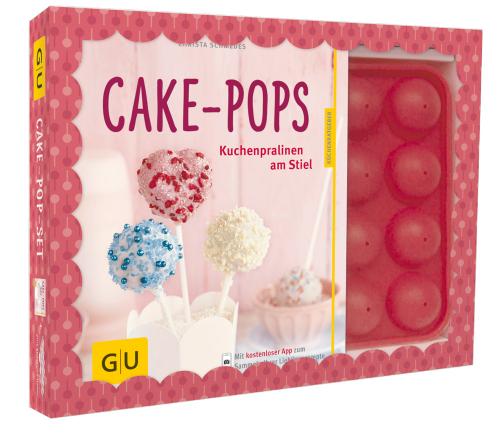 Cake-Pop-Set - Buch und Silikonbackform im Set