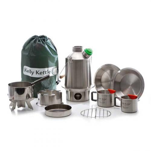 Kelly Kettle Camping Koch-Set.