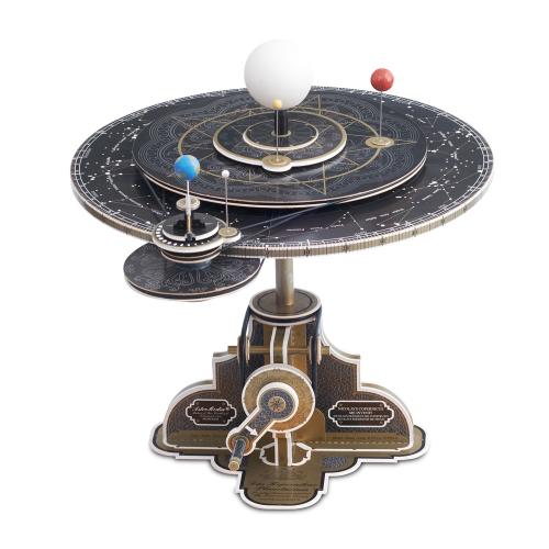 Kartonbausatz Kopernikus-Planetarium.