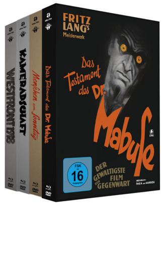 Das Testament des Dr. Mabuse. Mediabook.