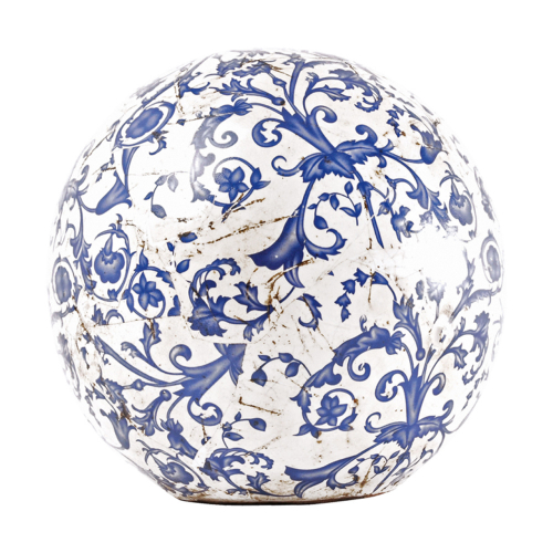 Keramik-Dekokugel, 18 cm.