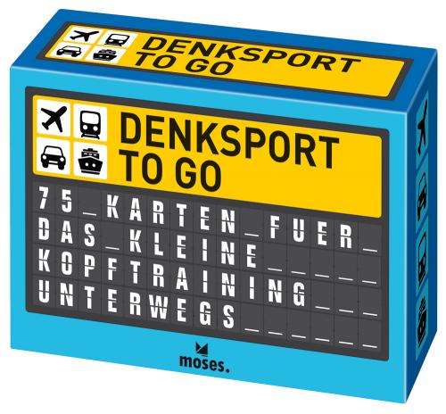 Denksport to go. 75 Karten für das kleine Kopftraining unterwegs.