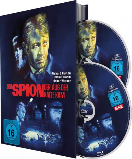 Der Spion, der aus der Kälte kam. Mediabook (Blu-ray + DVD).