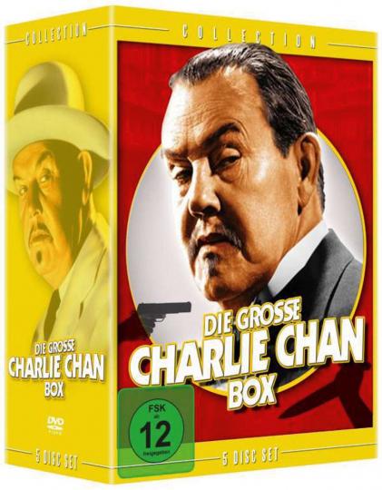 Die große Charlie Chan Box. 5 DVDs.
