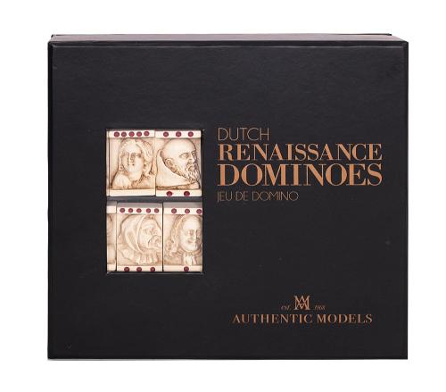 Domino-Spiel »Gesichter der Renaissance«.