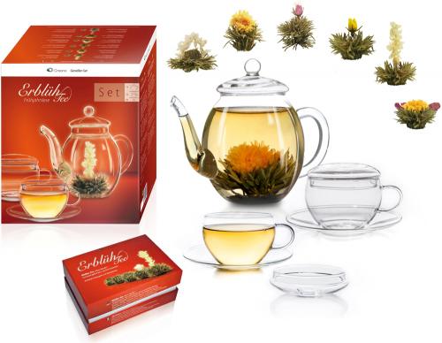 Erblüh-Tee »Weißer Tee« Geschenkbox.