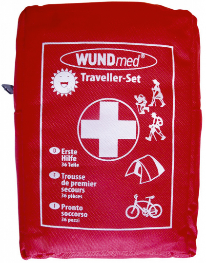 Erste Hilfe »Traveller-Set« 36-teilig
