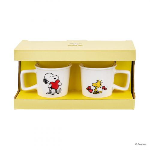 Espresso Tassen-Set »Snoopy und Woodstock«.