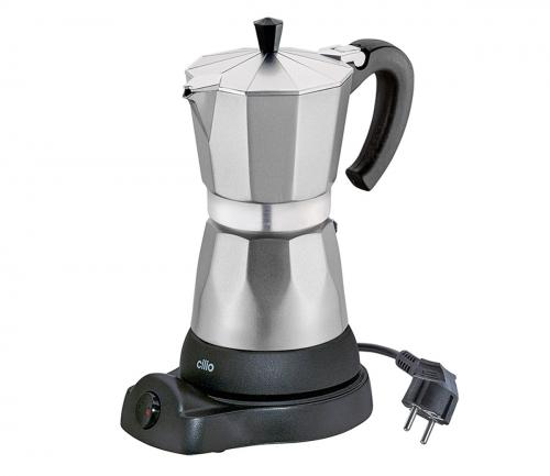 Espressokocher Classico, elektrisch.