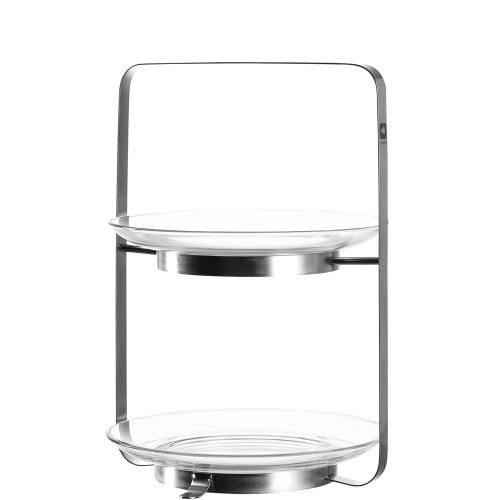 Etagere aus Glas.