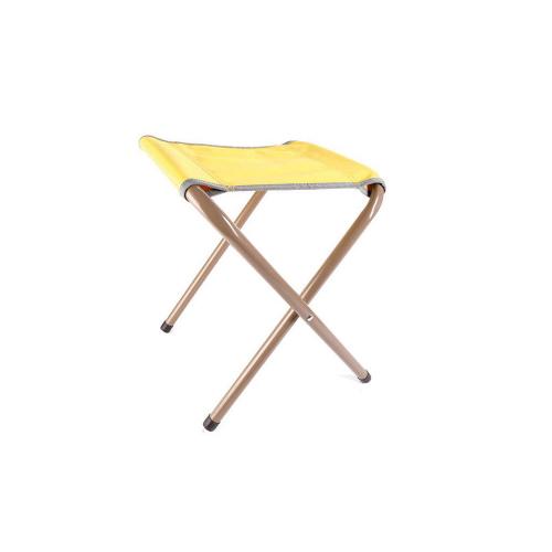 Faltbarer Stuhl. Gelb.