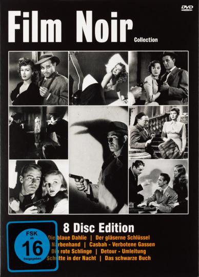 Film Noir Collection. 8 DVDs.