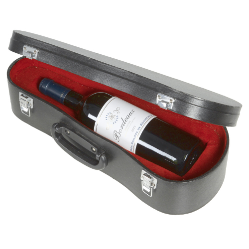 Flaschenbehälter »Geigenkasten«.