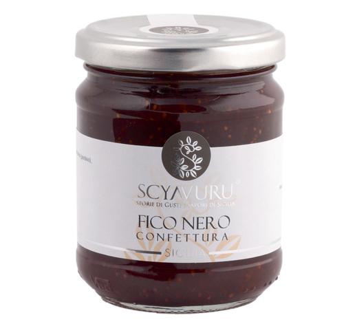 Fruchtaufstrich »Fico Nero«.