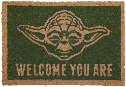Fußmatte »Yoda«. Welcome you are.