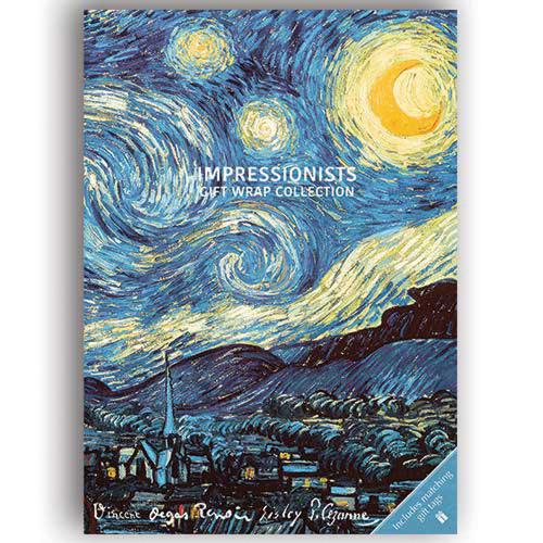 Geschenkpapier-Buch »Impressionismus«.