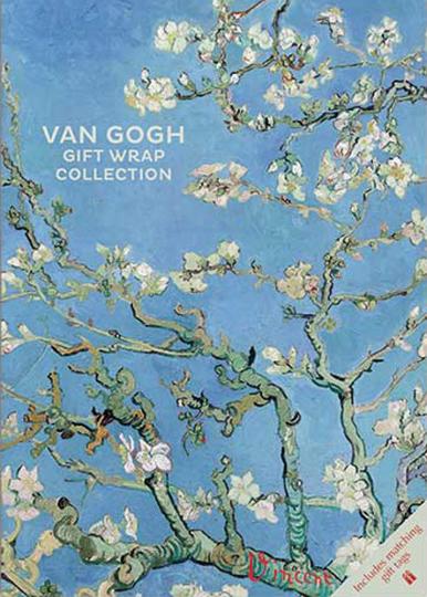 Geschenkpapier-Buch »Van Gogh«.