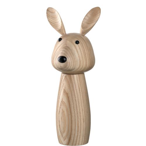 Gewürzmühle »Hase« aus Holz.