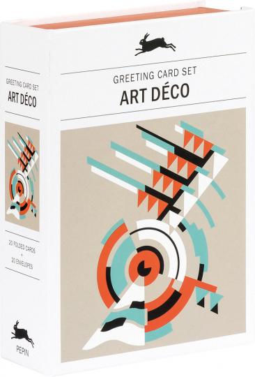 Grußkarten Set »Art déco«.