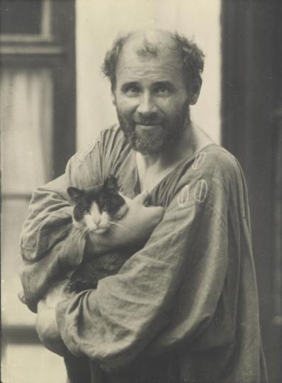 Gustav Klimts »Malerkittel«.