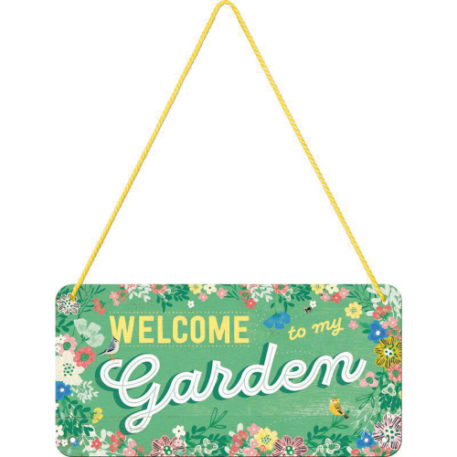 Hängeschild »Garden«.
