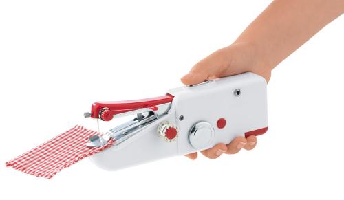Hand-Nähmaschine.
