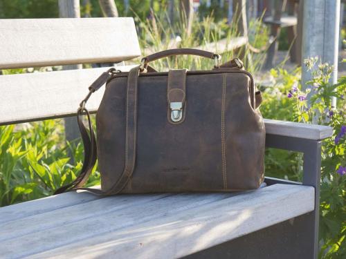 Handtasche mit Bügel »Vintage«.