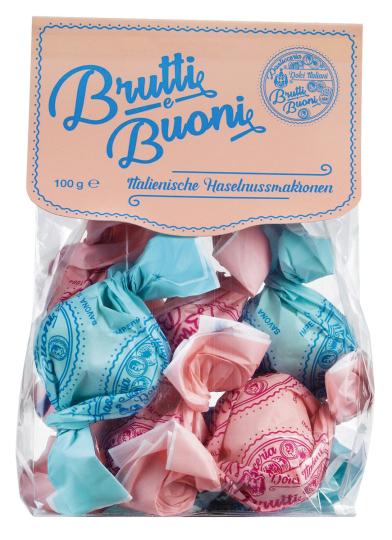 Haselnussmakronen »Brutti e Buoni«, 100 g.