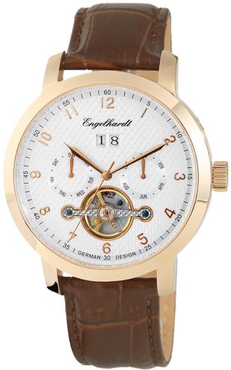Herren-Armbanduhr Roségold.