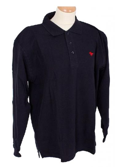 Herren Polohemd blau – Größe XL