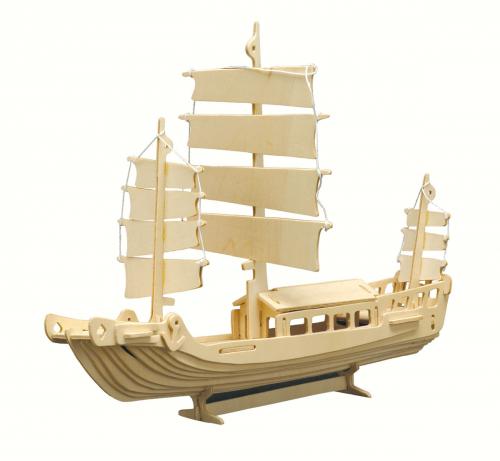 Holzbausatz »Schiff«.