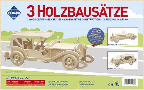 Holzbausatz »Nostalgie«.