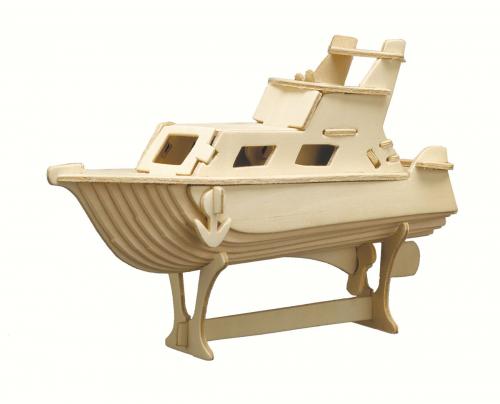 Holzbausatz »Yacht«.